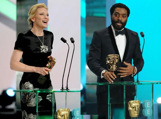 Cate Blanchett, Chiwetel Ejiofor, BAFTA British Academy Film Awards 2014