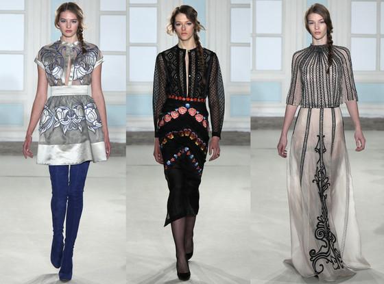 Temperley London, New York Fashion Week, 2014