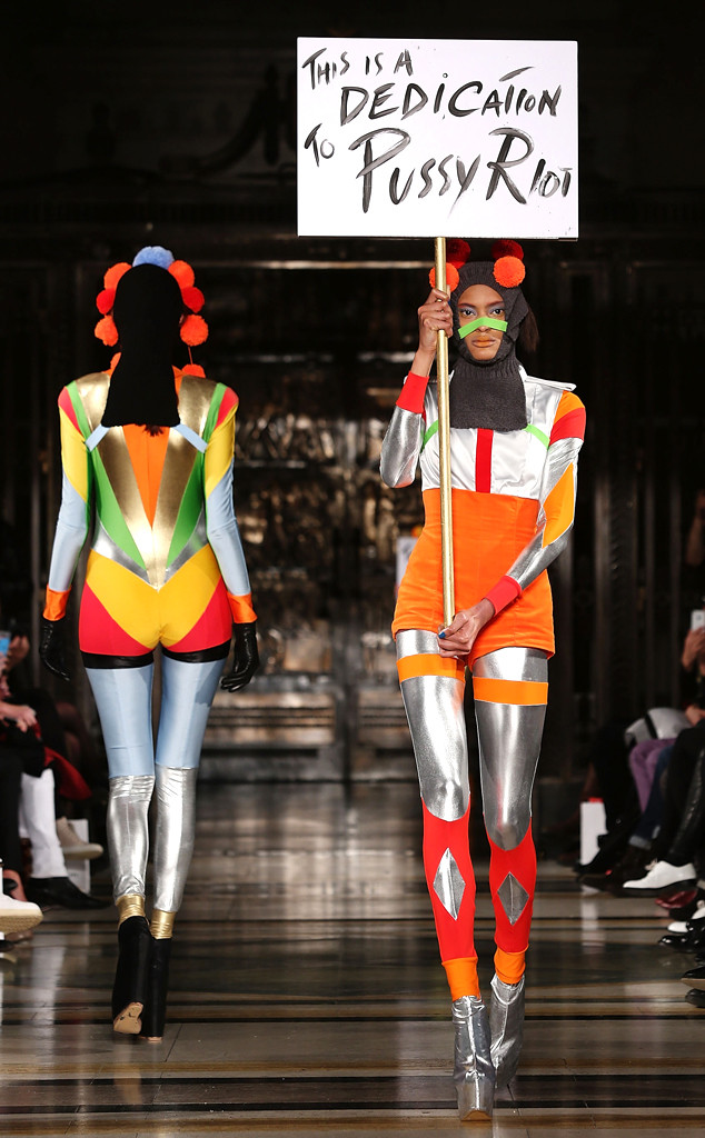 Pam Hogg, London Fashion Week, LFW