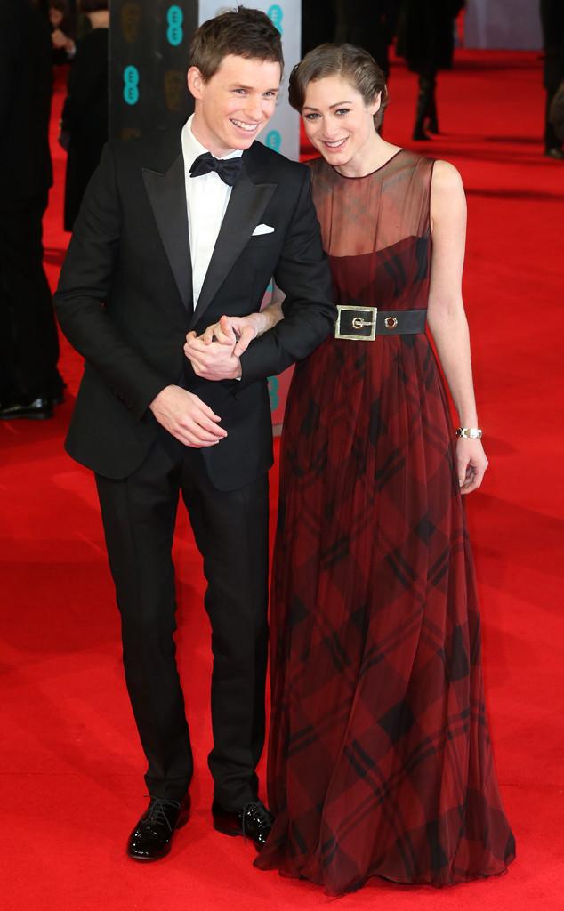 Eddie Redmayne, Hannah Bagshawe, BAFTA Film Awards 2014