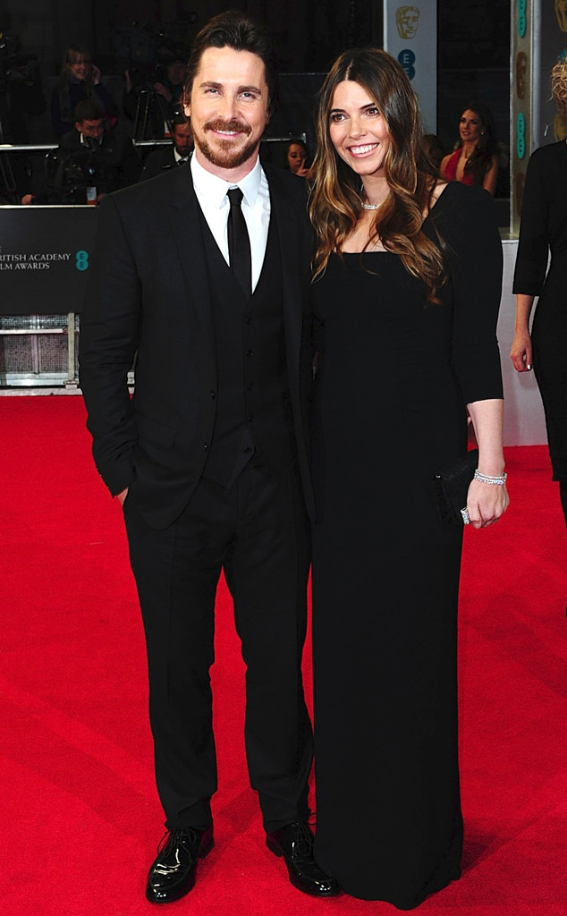 Christian Bale, Sibi Blazic, BAFTA British Academy Film Awards 2014