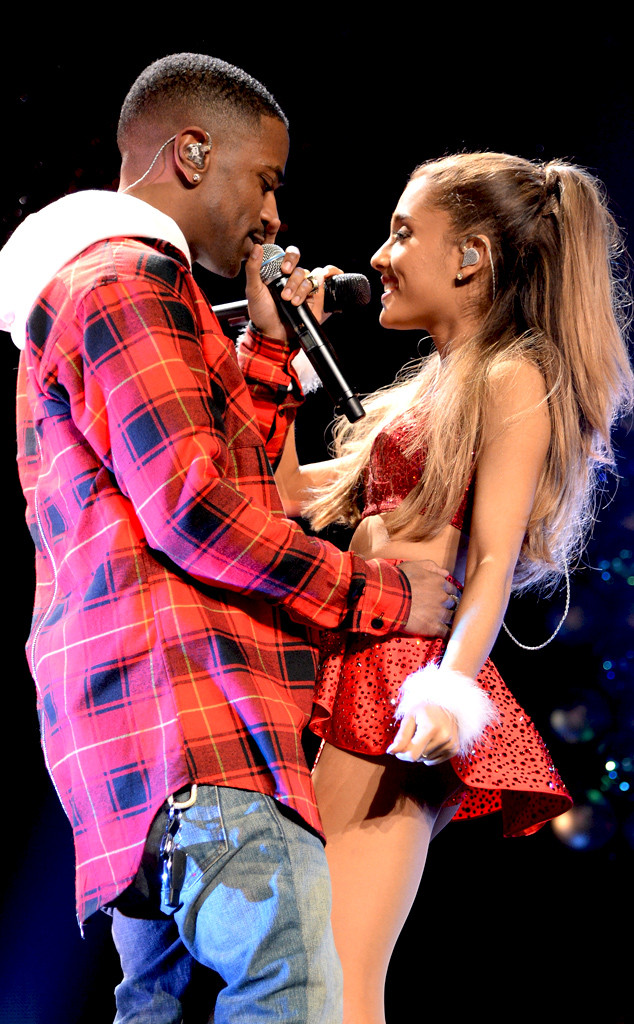 Sparks Fly as Ariana Grande and Big Sean Get Grabby During Sexy Jingle Ball Performance—Watch!