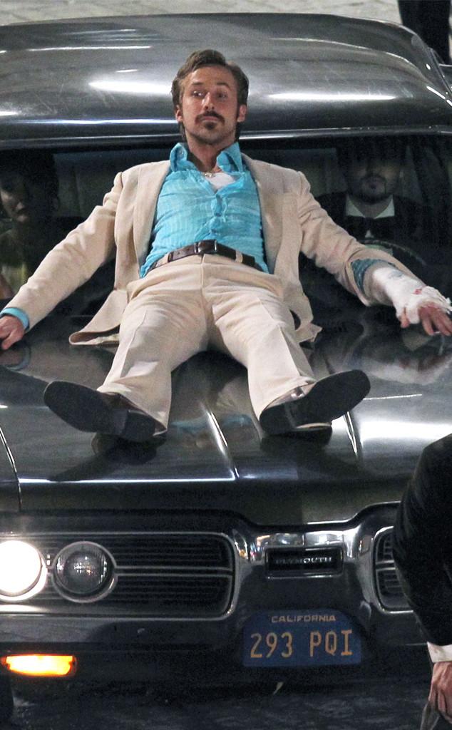 Ryan Gosling, Action Man! New Dad Films Dangerous-Looking ...