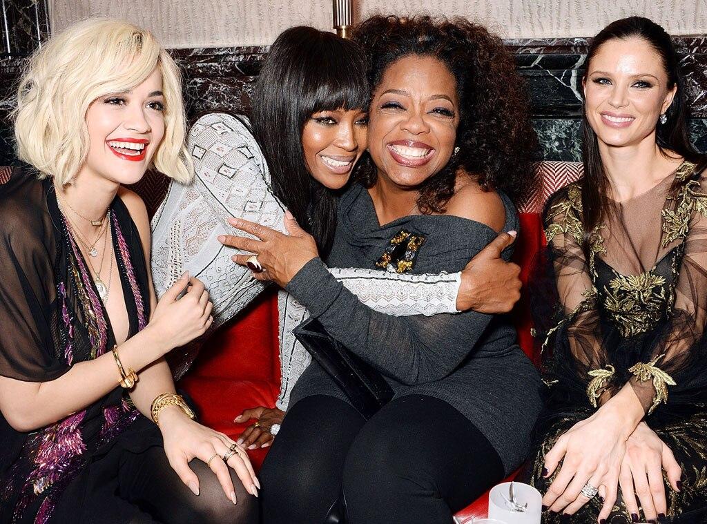 Rita Ora, Naomi Campbell, Oprah Winfrey, Georgina Chapman