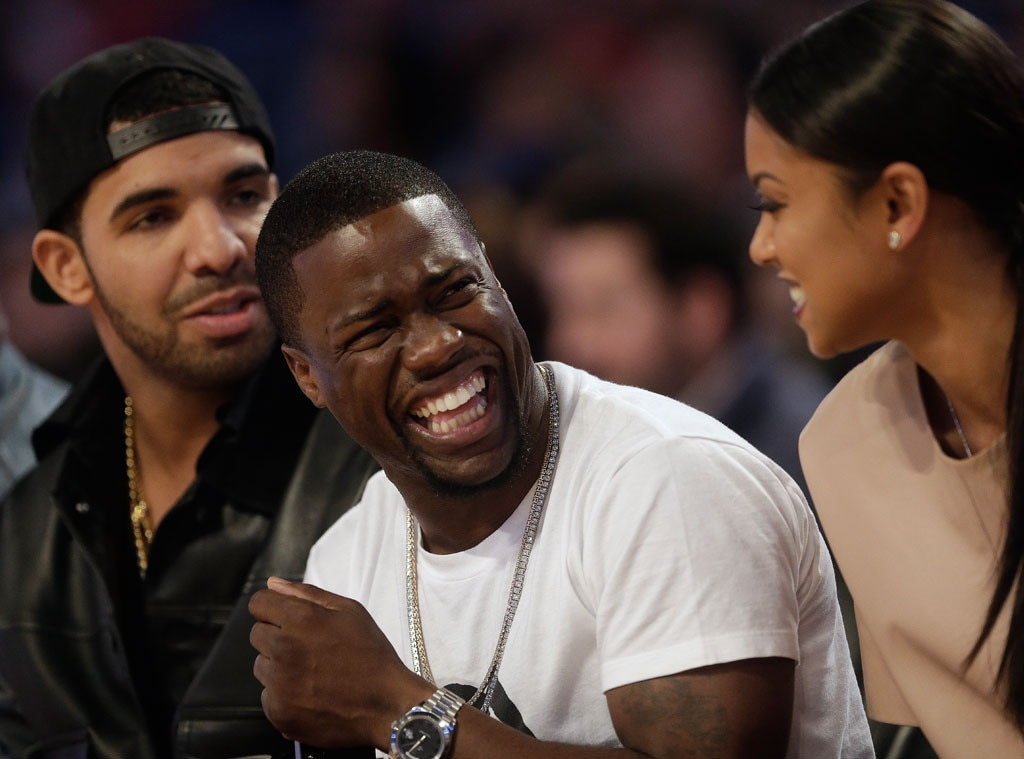 Kevin Hart, Drake, NBA All Star Game