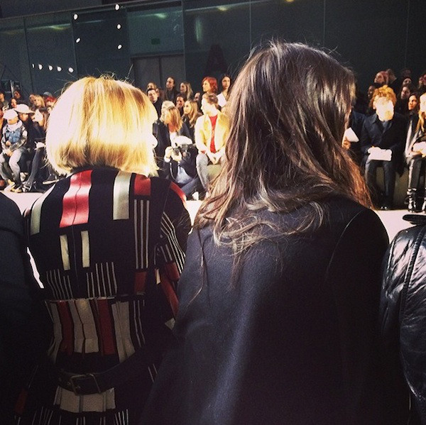 Kendall Jenner, Anna Wintour