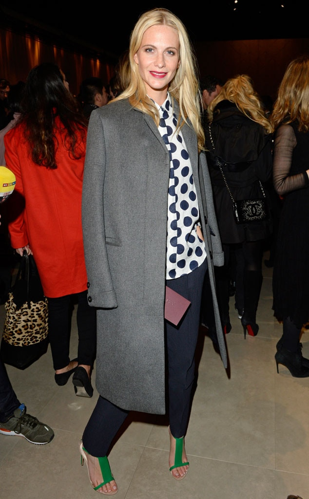 poppy Delevingne, Burberry