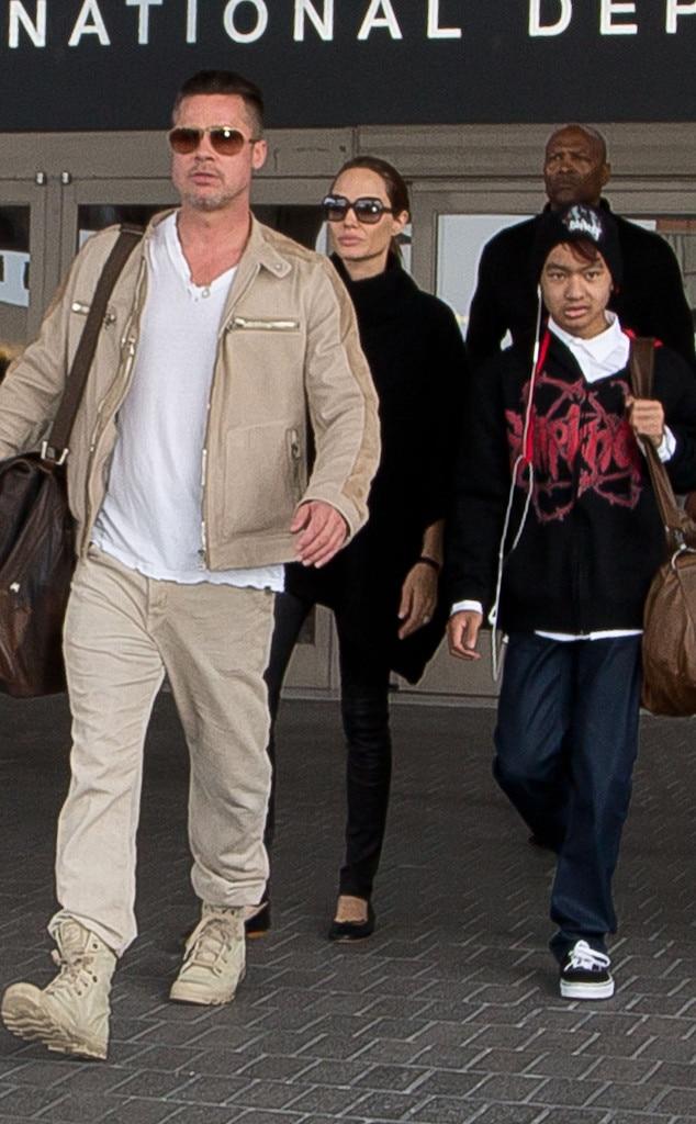 Brad Pitt, Angelina Jolie, Maddox Jolie-Pitt