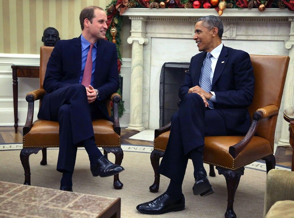 Barack Obama, Prince William