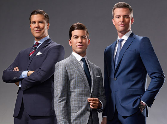Million Dollar Listing Cast, Fredrik Eklund, Luis Ortiz, Ryan Serhant
