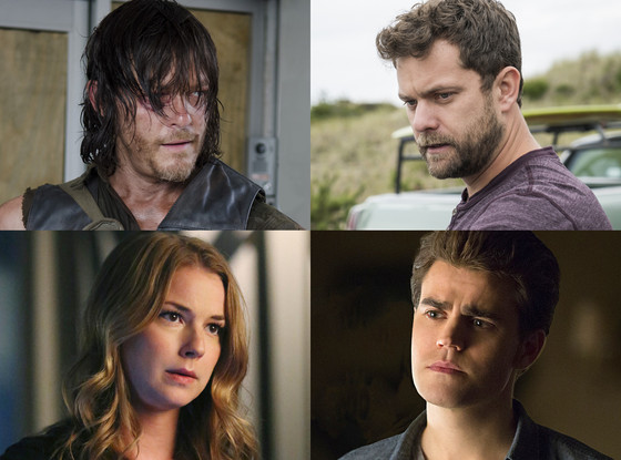 Chat Split, The Vampire Diaries, Revenge, The Walking Dead, The Affair