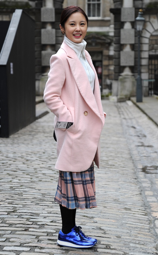 London From Street Style Winter Coats E News