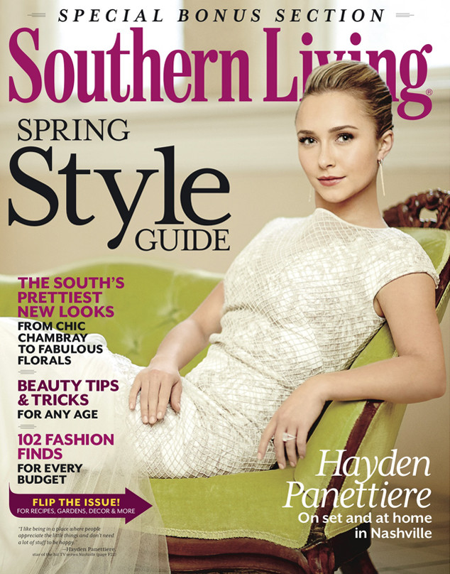 Hayden Panettiere, Southern Living