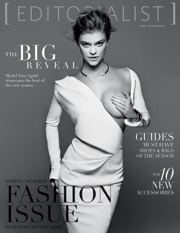 Nina Agdal, Editorialist Magazine