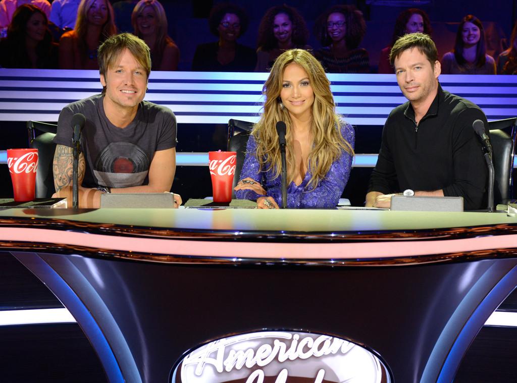 Keith Urban, Jennifer Lopez, Harry Connick, Jr, American Idol Judges