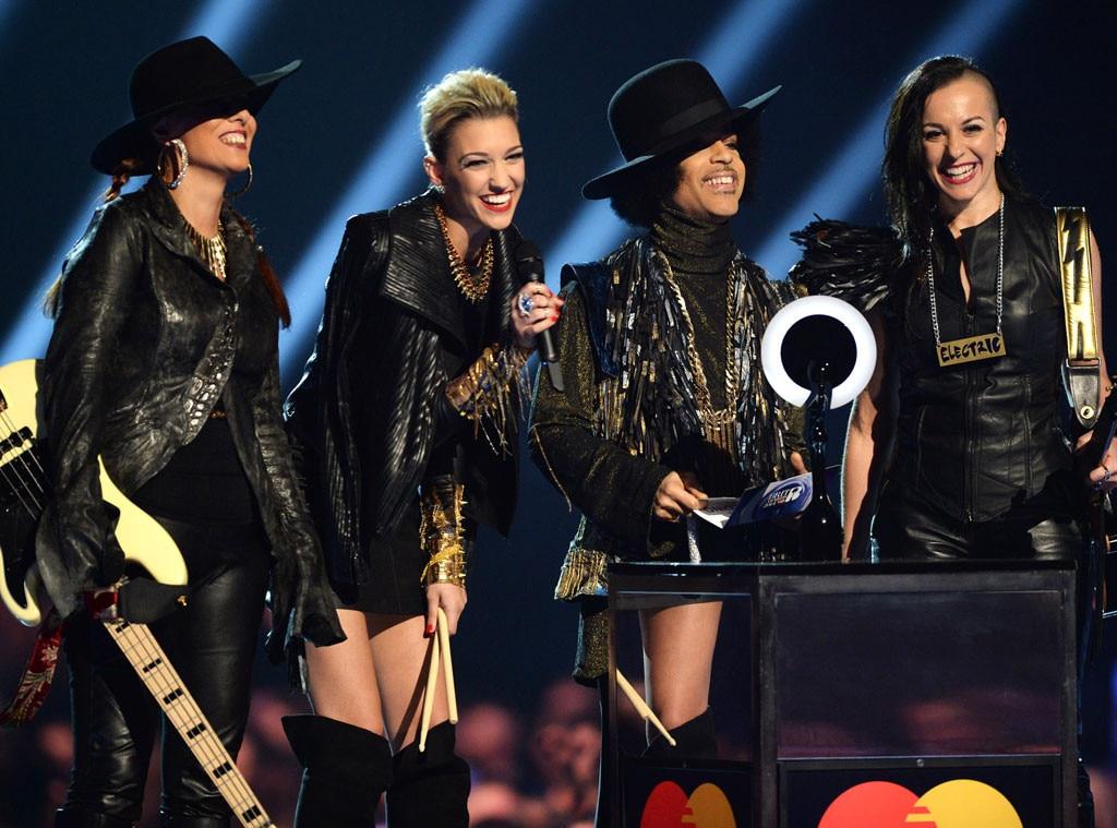 Prince, 3rd Eye Girl, Brit Awards