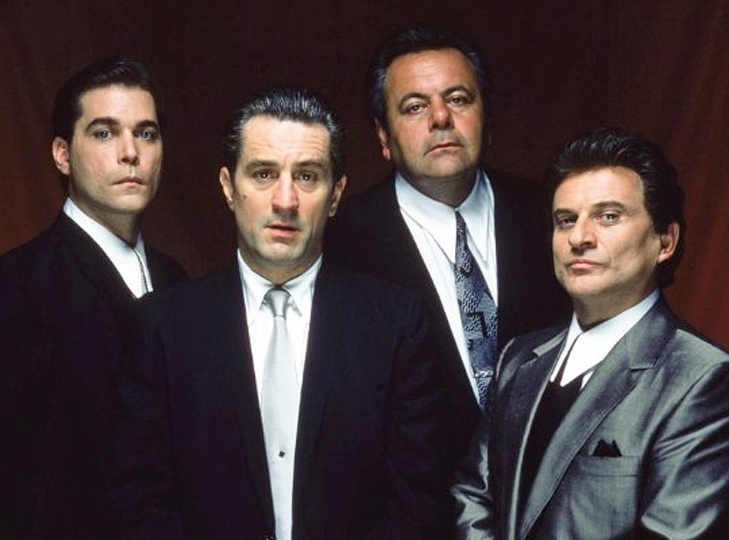 Goodfellas  -  Widely considered one of the best films of all time,  Goodfellas  stars  Robert DeNiro  and follows the real life antics of New York City mobster Henry Hill.