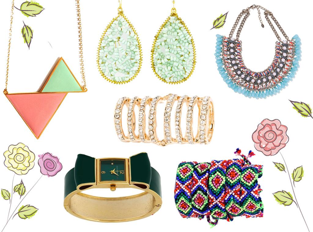 Spring Jewelry Under $35