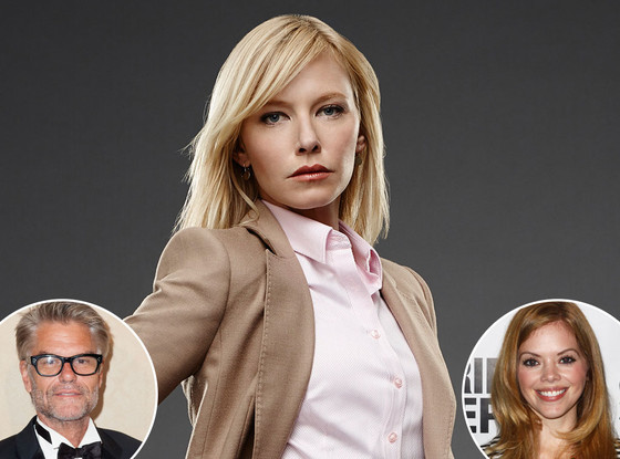 Harry Hamlin, Kelli Giddish, Dreama Walker