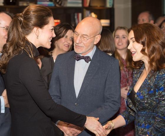 Kate Middleton, Catherine, Duchess of Cambridge, Patrick Stewart