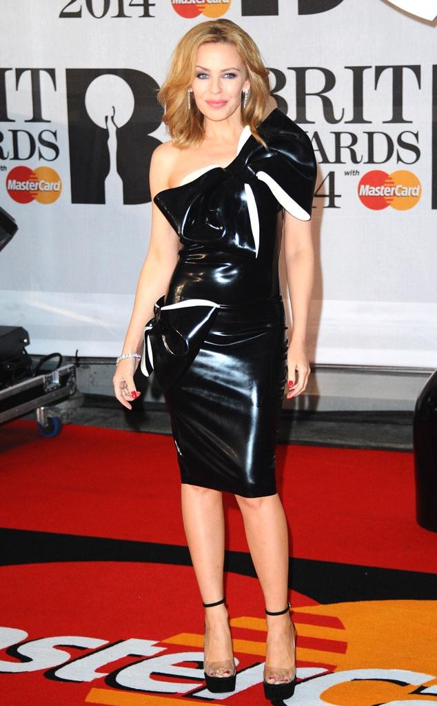 Brit Awards, Kylie Minogue, Latex
