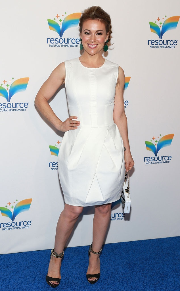 Alyssa Milano, Julie Matos