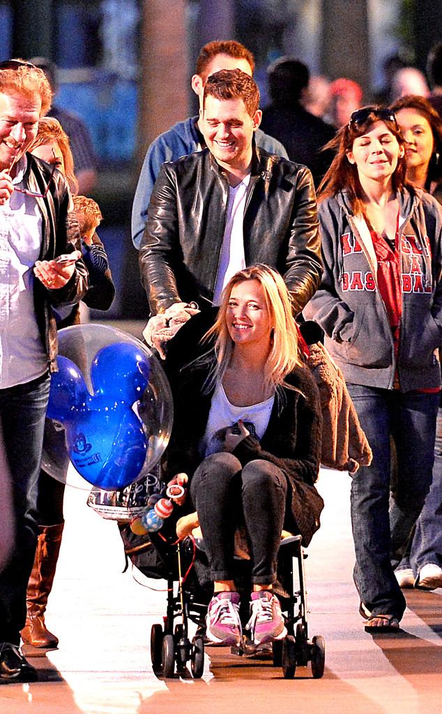 Michael Buble, Luisana Lopilato, Disneyland