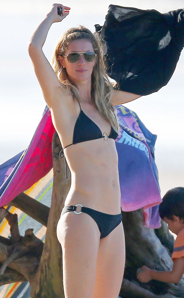 410951a38de86 Gisele Bündchen Has a Cheeky Beach Day With the Kids in Costa Rica ...