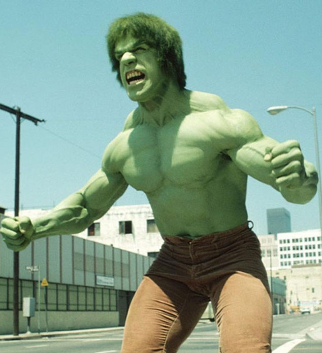 The Incredible Hulk, Lou Ferrigno, Superhero Costumes on TV