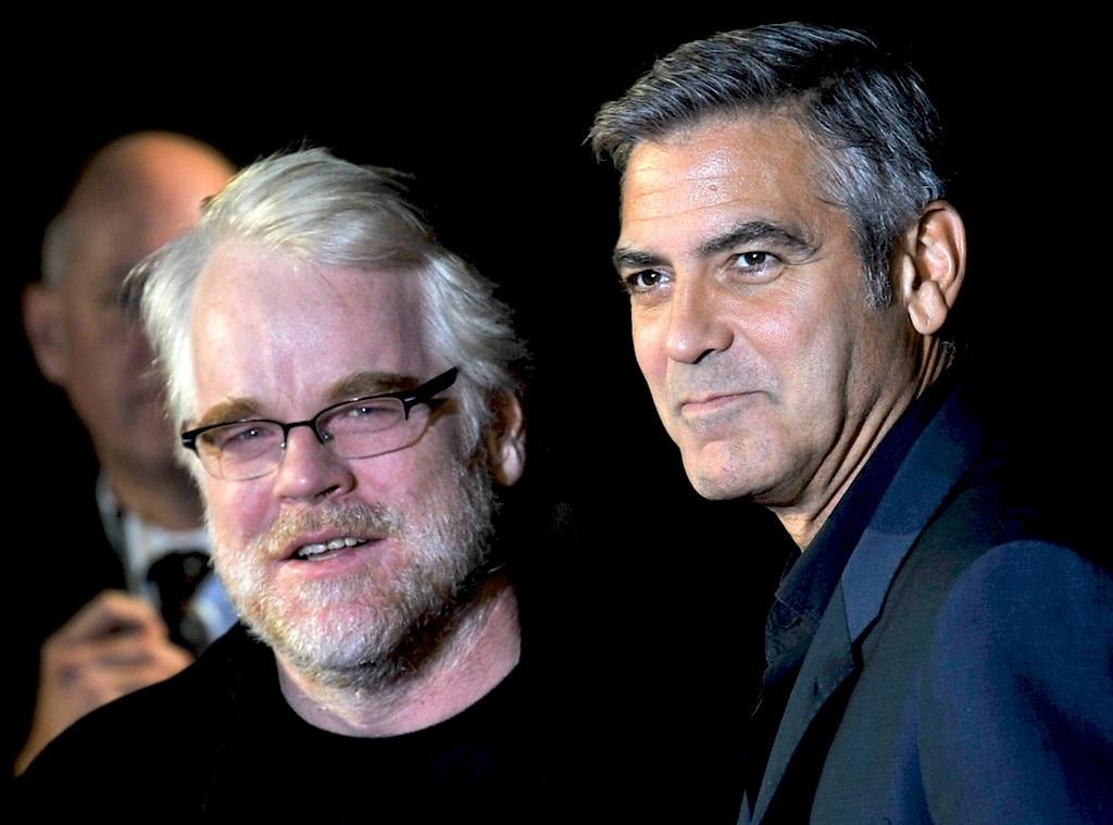 Philip Seymour Hoffman, George Clooney