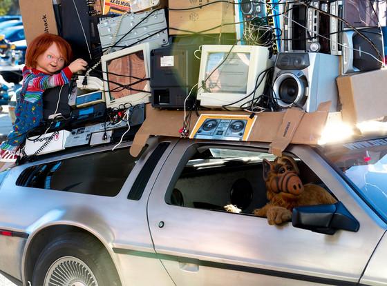Alf, Chucky, Radio Shack