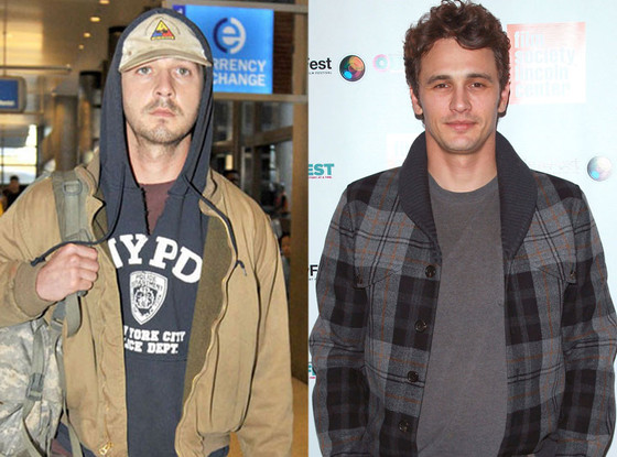 Shia LaBeouf, James Franco