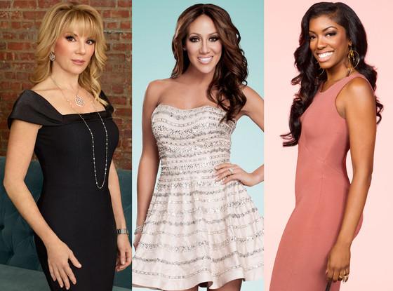 Ramona Singer, Melissa Gorga, Porsha Stewart, Real Housewives
