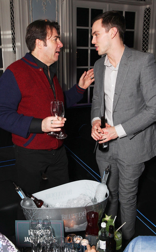 Jonathan Ross, Nicholas Hoult, Brit Awards After Party