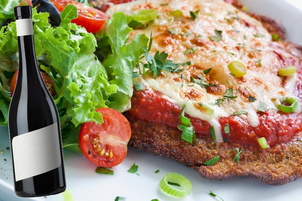Italian Food and Wine Pairings, Chicken Parmesan, Merlot