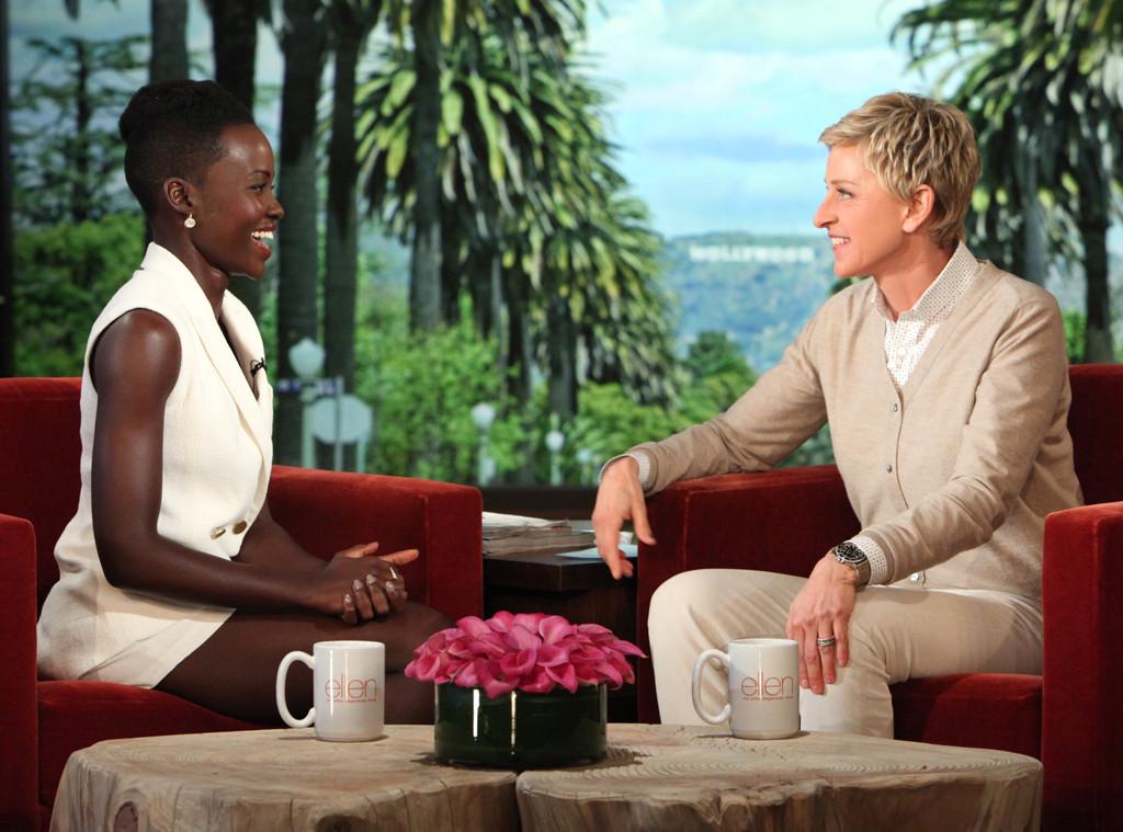 Lupita Nyong'o, Ellen DeGeneres, The Ellen DeGeneres Show