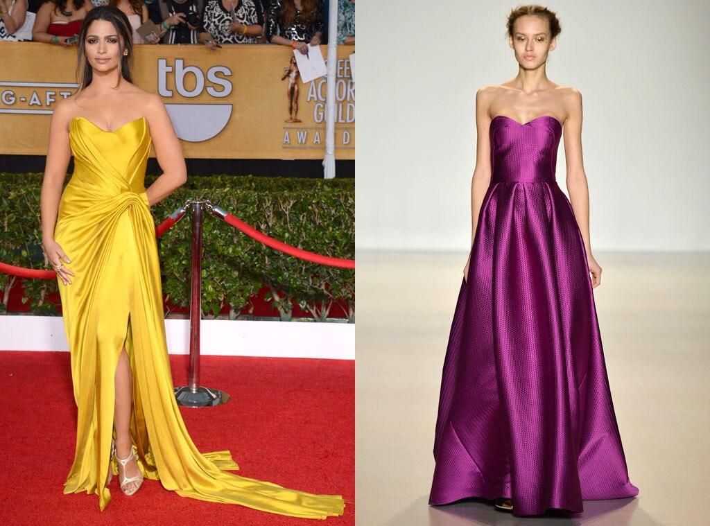Camila Alves, SAG Awards, Lela Rose Model, Oscar Gown Predictions