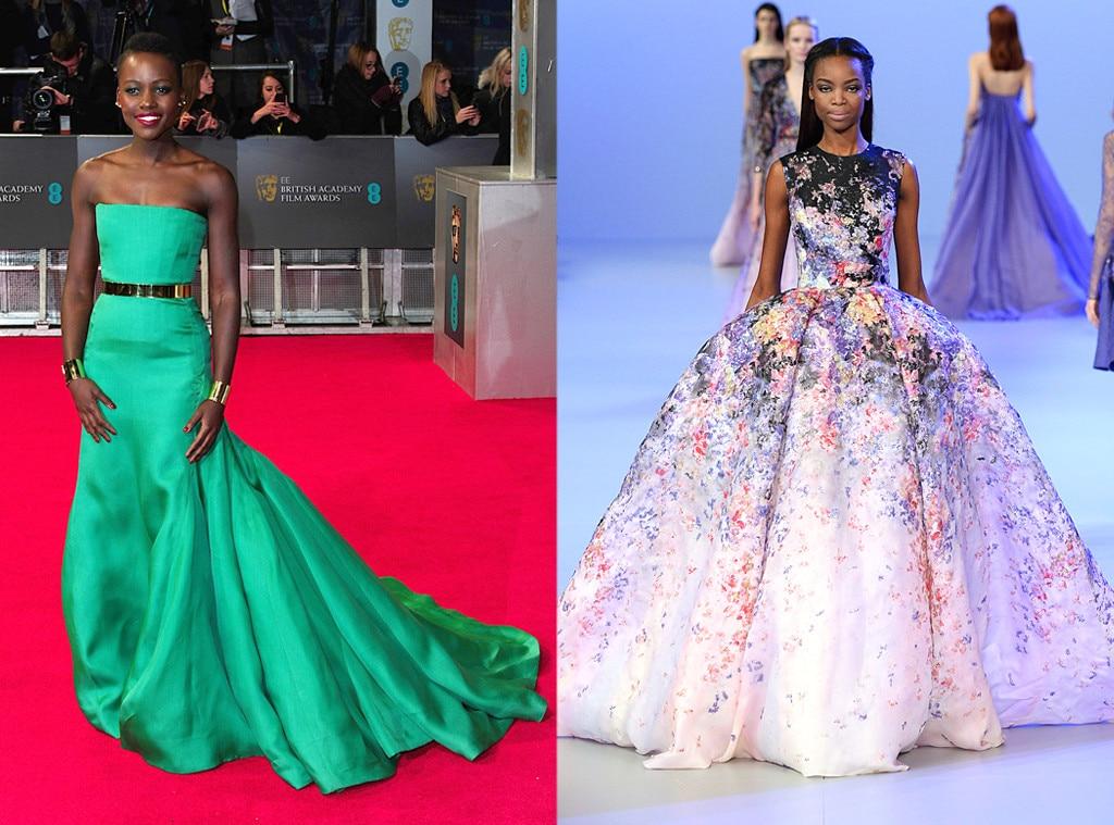 Lupita Nyong'o, BAFTA Awards, Elie Saab, Oscar Gown Predictions