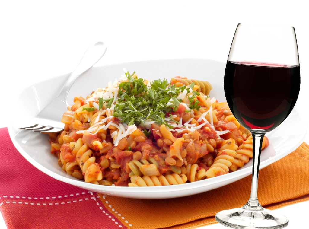 Italian Food and Wine Pairings, Fusilli, Dolcetto