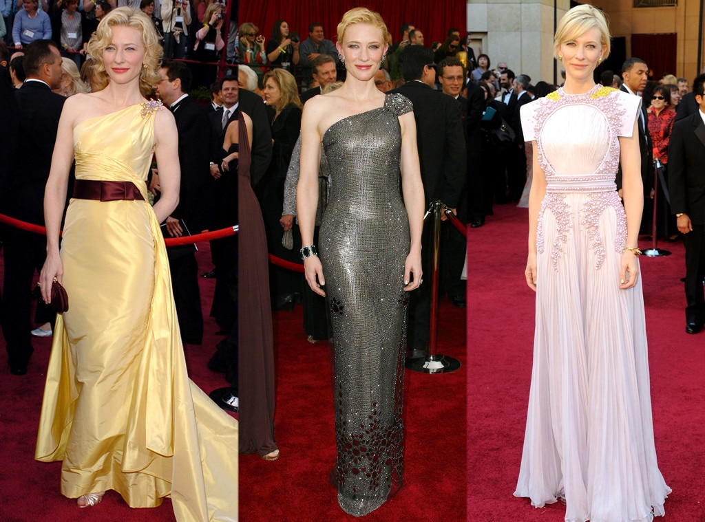 Cate Blanchett, Oscars Over the Years