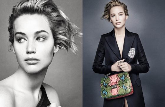 Jennifer Lawrence, Miss Dior Campaign