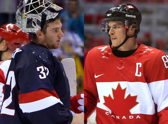 United States, Canada, Hockey Team, Sochi Winter Olympics, Jonathan Quick, Sidney Crosby