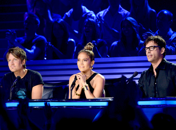 Keith Urban, Jenifer Lopez and Harry Connick, Jr., American Idol