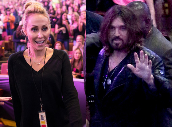 Billy Ray Cyrus, Tish Cyrus, Miley Cyrus, Bangerz Tour