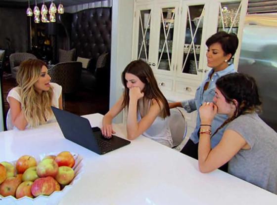 KUWTK, Kim Kardashian, Kendall Jenner