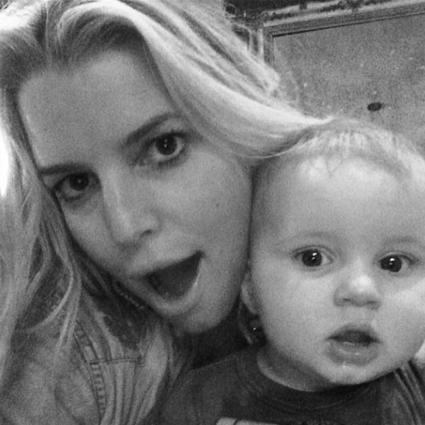 Jessica Simpson, Ace, Instagram