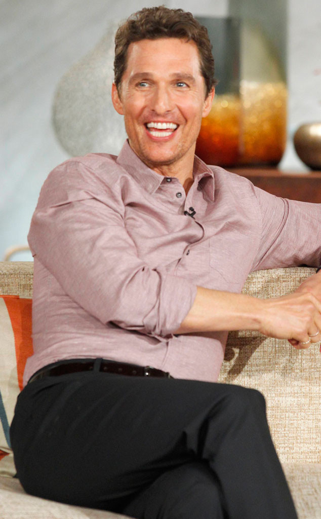 Matthew McConaughey, Queen Latifah Show