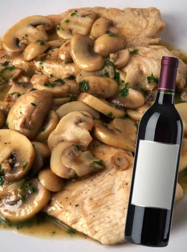 Italian Food and Wine Pairings, Chicken Marsala, Pinot Noir