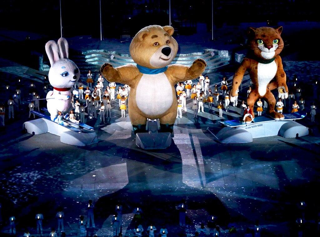 Sochi Winter Olympics Closing Ceremony, Mascot