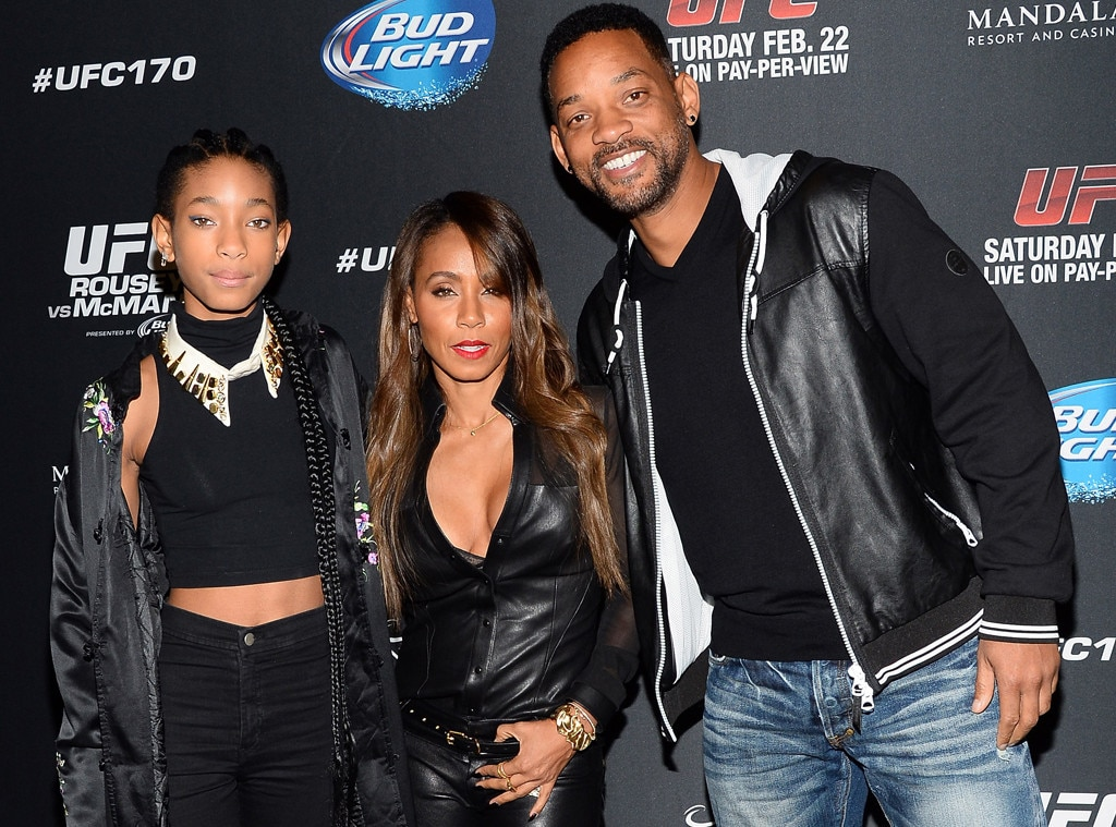 Willow Smith, Jada Pinkett-Smith, Will Smith